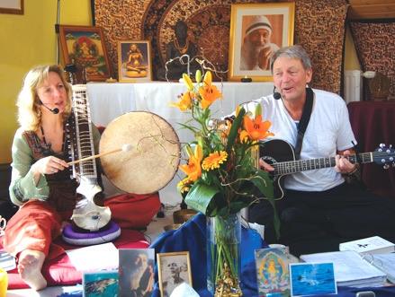 Singen mit Abhijat und Madhuri in Köln